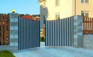 Распашные ворота в Самаре
