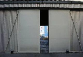 Откатные ворота гаражные в Самаре