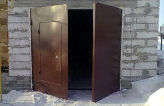 Гаражные распашные ворота в Самаре