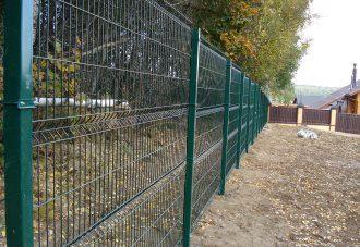 Забор из сетки гиттер (gitter) в Самаре