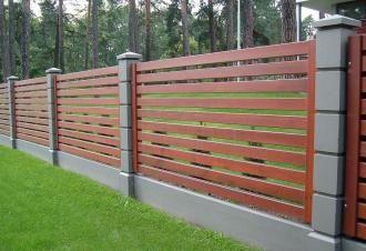 Деревянный забор под ключ в Самаре