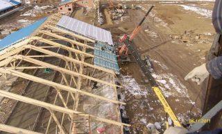 Строительство зданий фермы