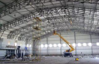 Строительство цехов в Самаре